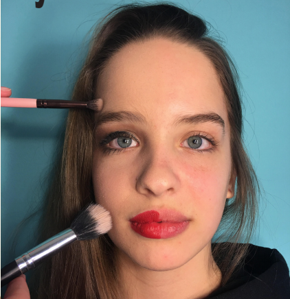 Makeup used as tool for self expression andcreativity